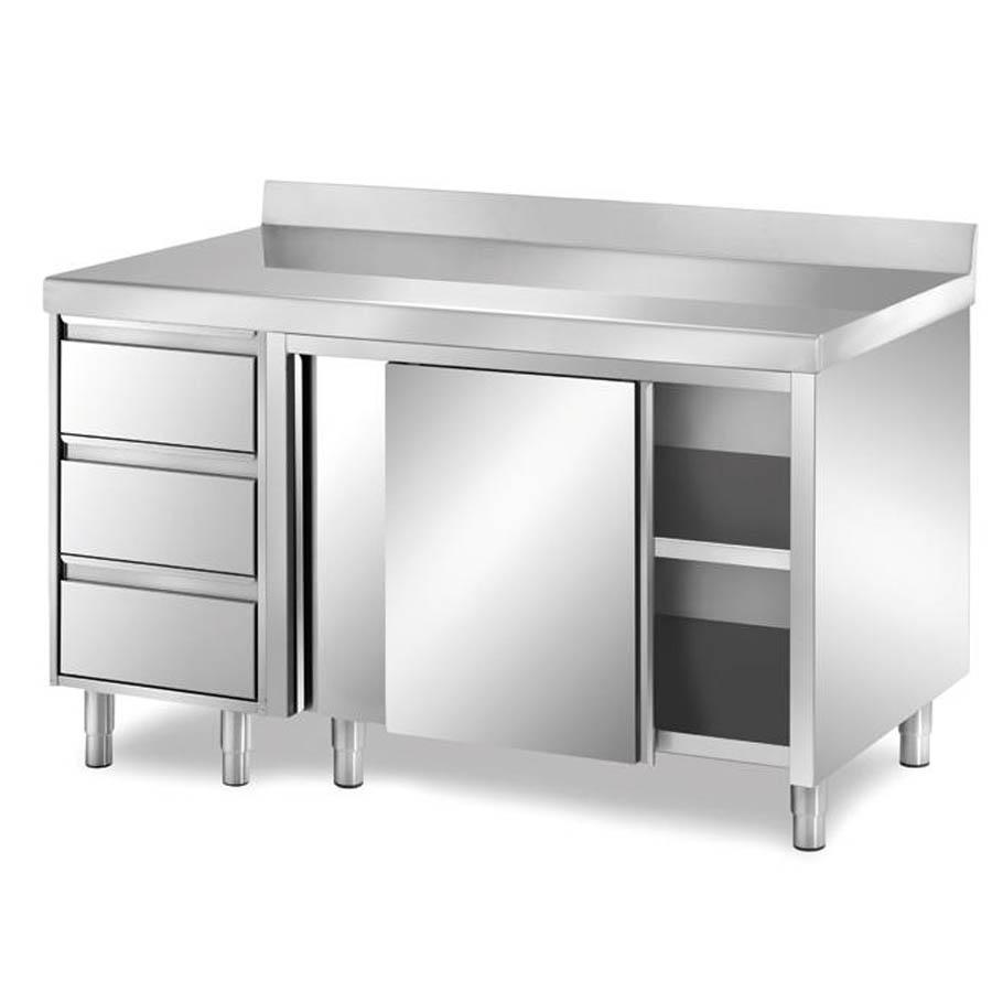 Tavoli e pensili in acciaio inox attrezzature settore - Mobili ikea usati ...