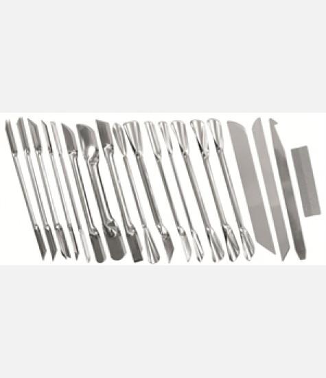 Kit con 18 coltelli da decoro cod 1200.0198