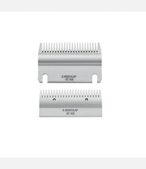 Coppia di pettini Aesculap GT 505 superiore 22 denti / GT 506 inferiore 24 denti