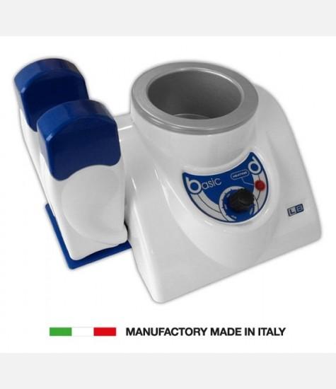 FORNELLO SCALDACERA IN PLASTICA  PER BARATTOLO DA 400 E 800 ML + 2 MANIPOLI SCALDACERA RULLO  MADE IN ITALY