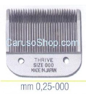 PETTINE TESTINA PER TOSATRICE THRIVE 0.25 MM SIZE 000