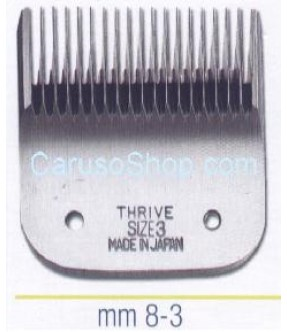 PETTINE TESTINA PER TOSATRICE THRIVE 8 MM SIZE 3