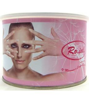 Cera epilazione Roial liposolubile barattolo 400 ml Titanio Rosa