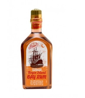 CLUBMAN VIRGIN ISLAND BAY RHUM AFTER SHAVE / BODY TONIC - LOZIONE DOPOBARBA / TONICO PER IL CORPO 177 ML - 6 OZ MADE USA