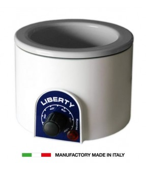 FORNELLO SCALDACERA IN PLASTICA PER BARATTOLO DA 400 E 800 ML MADE IN ITALY