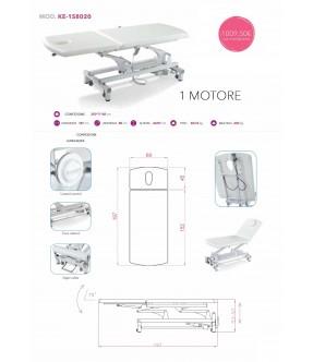 LETTINO ELETTRICO 1 MOTORE KEOPE KE-1S8020